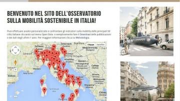 Mobilita' sostenibile in Italia, Euromobility lancia gli open data