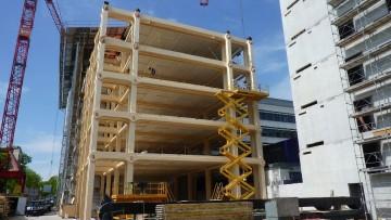 La nuova sede Tamedia, gioiello multipiano in legno firmato Shigeru Ban