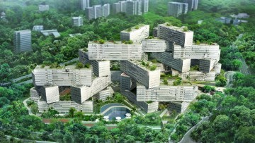 A 'The Interlace' un premio per l'habitat urbano