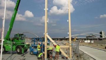 Expo 2015, via alla costruzione dei quattro cluster tematici in legno