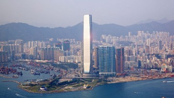Dal Council of tall buildings un premio alla torre piu' alta di Hong Kong