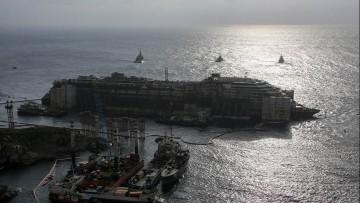 La Costa Concordia ha lasciato il Giglio