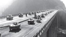 L'Autostrada del Sole festeggia 50 anni