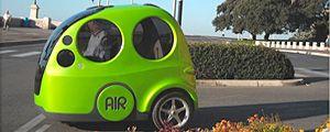 Airpod, la prima vettura ad aria compressa