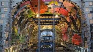 Markthal Rotterdam di Mvrdv: le strutture in elevazione