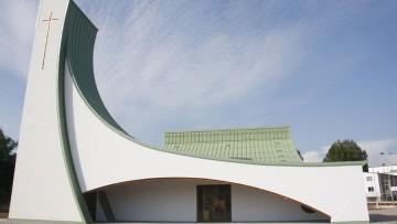 Legno in edilizia, la chiesa alla Maristella a Cremona: le strutture