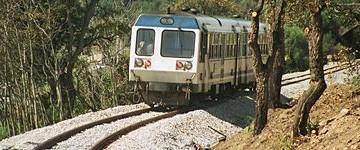 Traverse ferroviarie in metallo per la Corsica