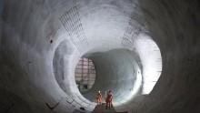 Tunnel ferroviari, procede la nuova rete di Londra: ecco le immagini