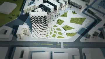Gli uffici del futuro? Progettati (da un italiano) con tecniche parametriche