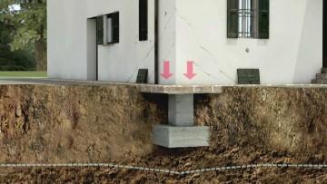 Cedimenti delle fondazioni: le cause principali