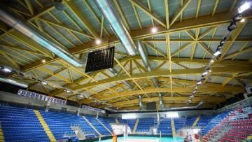 Edilizia sportiva: copertura in legno lamellare per un nuovo tempio della pallavolo