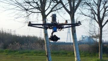 I droni sono sempre piu' utilizzati dagli ingegneri