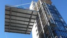 Hybrid Tower Mestre: gli ultimi piani montati come i Lego