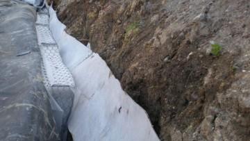 Le opere di drenaggio superficiale e profondo