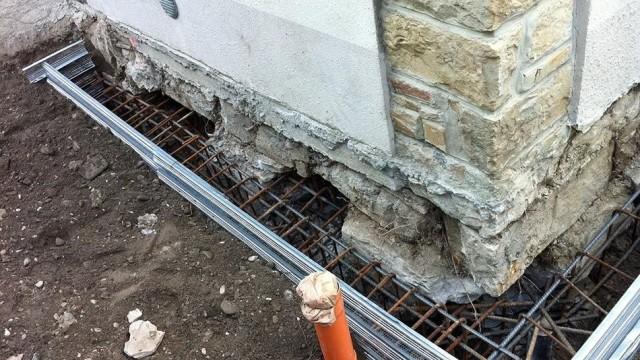 Cedimento delle fondazioni metodi di consolidamento for Stili di fondazione di case