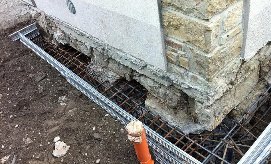 Cedimenti delle fondazioni alcuni metodi di for Costo per costruire una nuova casa