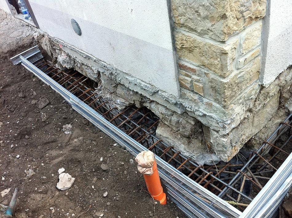 Cedimenti delle fondazioni alcuni metodi di for Piccola casa su piani di fondazione