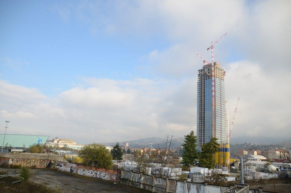 il grattacielo della regione piemonte a torino di
