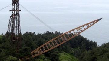 Un ponte in legno a campata unica di oltre 82 metri in Russia