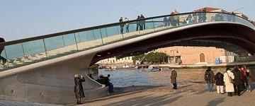 Ancora polemiche sul ponte di Calatrava a Venezia