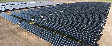 Il più grande fotovoltaico ad inseguimento con moduli a film sottile