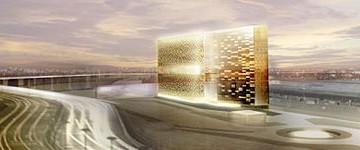 Torre orizzontale a Fieramilano Rho: posato il solaio di copertura
