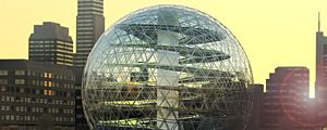 Fattorie urbane in cupole geodetiche