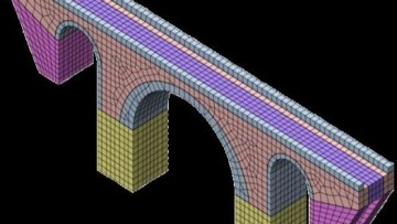 Analisi di fragilita' delle infrastrutture. La simulazione numerica 3D di fenomeni complessi nelle grandi opere