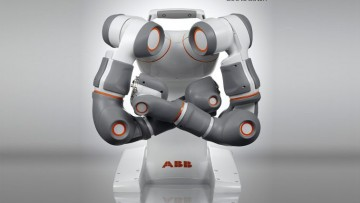 "La robotica di ABB vince il Red Dot ""Best of the Best"" design award 2011"