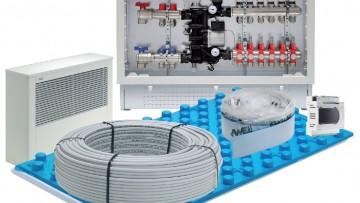 Emmeti Clima Floor: sistemi radianti di raffrescamento a pavimento