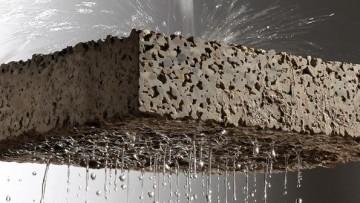 Il calcestruzzo drenante e' Drainbeton di Betonrossi