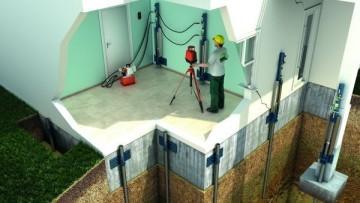Consolidamento fondazioni: l'intervento su un condominio a Bologna