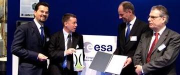 L'ESA premia l'industria italiana alla Fiera di Hannover