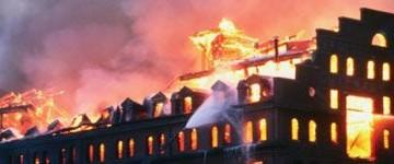 ISPESL: grandi incendi, Italia