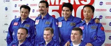Comincia oggi Mars500: fra i 7 membri un italo colombiano