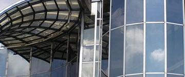 Cellule e vetro in facciata