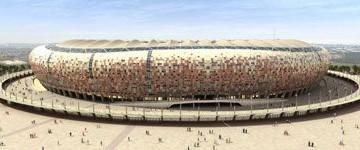 Lo stadio di Joannesburg completamente rimodernato
