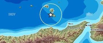 Terremoto nel distretto sismico  Isole Lipari