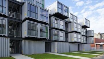 I container diventano alloggi low cost