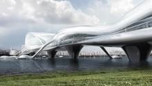 A Seoul un ponte multipiani, multiuso, multimediale
