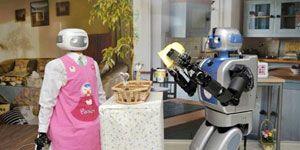 A breve le  colf  e i maggiordomi robot