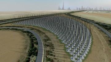 Windstalk: il parco eolico senza turbine