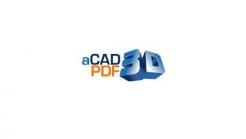 aCAD PDF 3D: il plug-in tridimensionale per AutoCAD