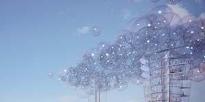 """Passeggiare nelle  """"bolle"""" fra le nuvole"""