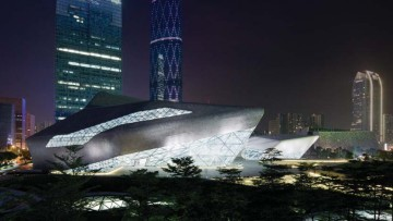 Guangzhou Opera House di Zaha Hadid