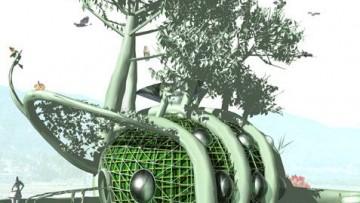Fab Tree Hub: la casa da coltivare come un albero