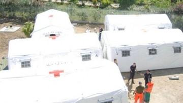 Operativo l'ospedale da campo della Protezione Civile Italiana  ad  Haiti