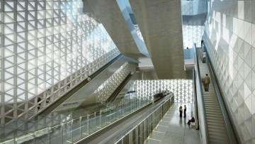 Una stazione della metro per Rennes