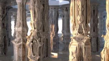 Le architetture più complesse del mondo sono fatte di cartone