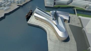 Il Riverside Transport Museum di Zaha Hadid è pronto